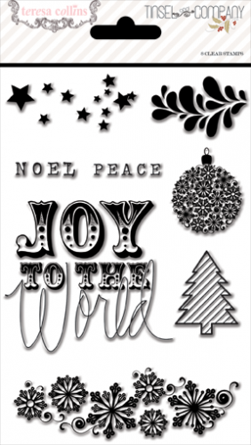 Teresa Collins Designs - Tinsel & Company - Stamps