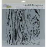 The Crafters Workshop - 12 x 12 Template - Woodgrain