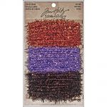 Tim Holtz - Idea-ology - Tinsel Twine 6yds - Autumn - 3 Colors/2 Yards Each