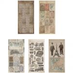Tim Holtz - Idea-ology - Salvage Stickers - French Industrial