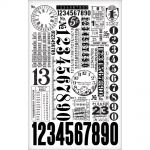 Tim Holtz - Idea-ology - Remant Rubs - Numbers