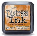 Tim Holtz Distress Ink Pad by Ranger - Wild Honey
