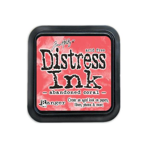 Tim Holtz Distress Ink Pad by Ranger - Abandoned Coral