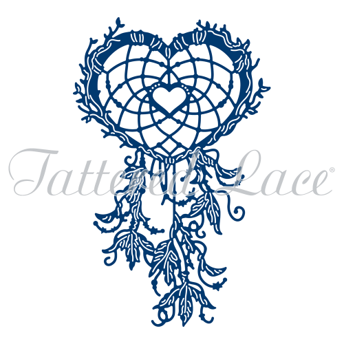 Tattered Lace Dies - Heart Dream Catcher