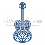 Tattered Lace Dies - Guitar