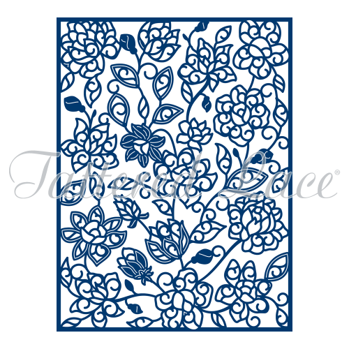 Tattered Lace Dies - Adele Panel