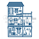 Tattered Lace Dies - Dolls House