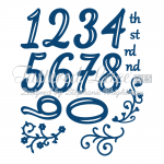 Tattered Lace Dies - Huggables Numbers