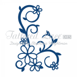 Tattered Lace Dies - Daisy Starlight Flourish