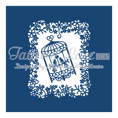 Tattered Lace Dies - Birdcage Tapestry