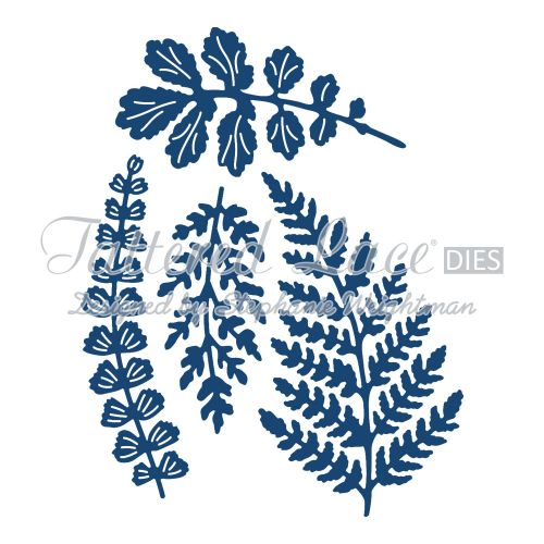 Tattered Lace Dies - Paradise Ferns