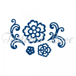 Tattered Lace Dies - Floral Flourish & Lacy Rose