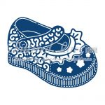 Tattered Lace Dies - Baby Girl Shoe