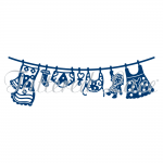 Tattered Lace Dies - Baby Girl Washing Line