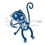 Tattered Lace Dies - Monkey