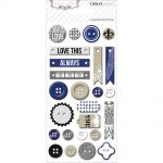 Teresa Collins Designs - Urban Market - Decorative Buttons