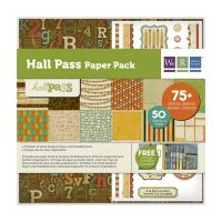 We R Memory Keepers - Hall Pass Collection - Paper Pack