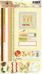 Websters Pages - Lullaby Lane Collection - Cardstock Stickers - Image and Phrase