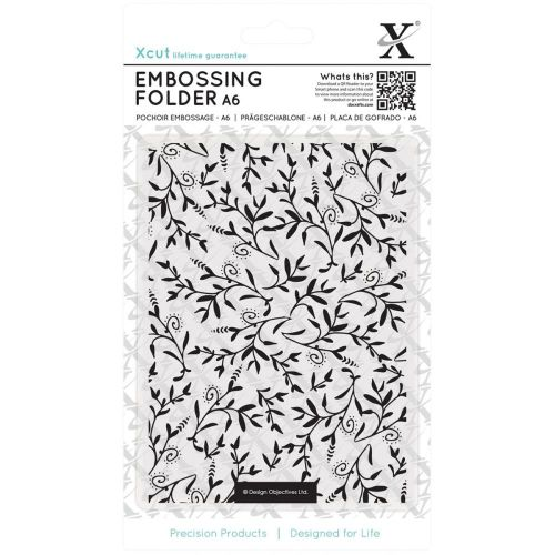 Do Crafts - Xcut Embossing Folder - A6 - Foliage Pattern
