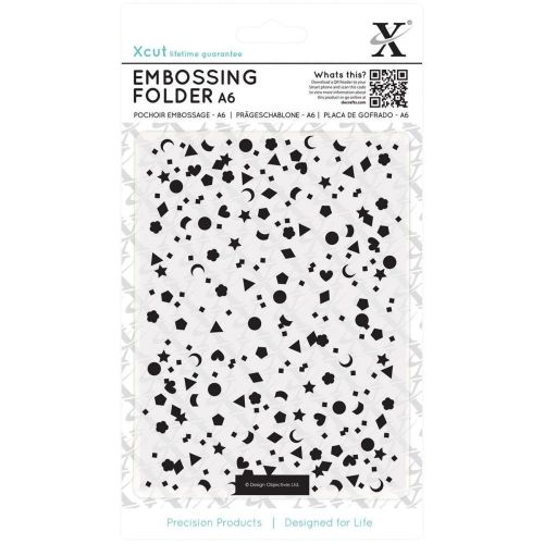 Do Crafts - Xcut Embossing Folder - A6 - Mixed Confetti