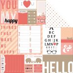 "Teresa Collins Designs - You Are My Happy - 12x12"" Paper - Hello Tags"