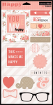 "Teresa Collins Designs - You Are My Happy - 2 x 6"" x 12"" Chipboard"