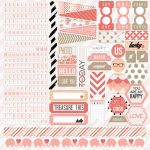 Teresa Collins Designs - You Are My Happy - 12x12 Sticker Sheet