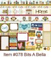 Bella Blvd - Honey I'm Home - Paper -Bits A Bella
