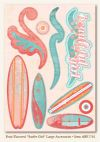 "My Minds Eye - Breaking Free - Fruit Flavored - ""Surfer Girl"" Large Accessories"