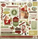 Carta Bella - Christmas Day - Elements Stickers