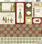Carta Bella - Christmas Day - Alpha Stickers