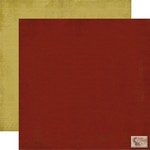 Carta Bella - Christmas Day - Crimson/Gold