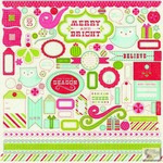 Carta Bella - Merry & Bright - Element Stickers