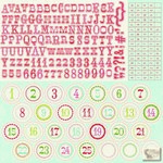 Carta Bella - Merry & Bright - Alpha Stickers