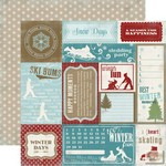 Carta Bella - Winter Fun - Wintertime Cards
