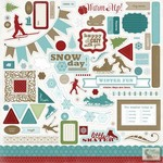 Carta Bella - Winter Fun - Elements Stickers