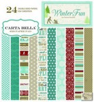 Carta Bella - Winter Fun - 6 x 6 Paper Pad