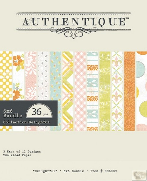 Authentique -Delightful - Bundle 6x6 Bundle