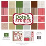 Echo Park Paper - Dots & Stripes - Christmas