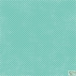 Echo Park - Dots and Stripes - Soda Fountain - Aqua Tiny Dots Patterned Paper
