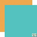 Echo Park - Everyday Eclectic - Solid Orange/Teal