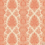 Teresa Collins Designs: Fabrications Linen: Red Brocade Paper