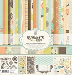 Fancy Pants - Summer's End Paper Kit