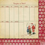 Fancy Pants - Saint Nick Naughty or Nice Paper