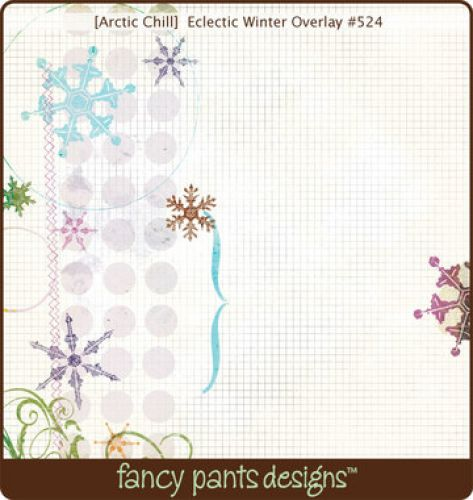Fancy Pants - Fancy - Eclectic Winter Transparency