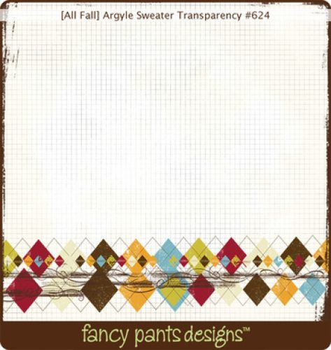 Fancy Pants - Fancy - Argyle Sweater Transparency