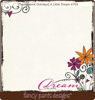 Fancy Pants - Fancy - A Little Dream Transparency