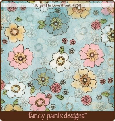 Fancy Pants - Crush - In Love Paper