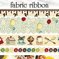 Websters Pages - WonderFall - Fabric Ribbon