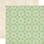 Echo Park Paper Co - For the Record 2 - Tailored - Green Lace